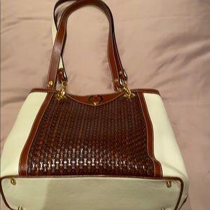 Leather Bally purse